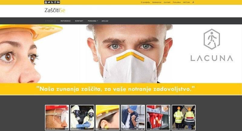 """<a href=""""http://www.zascitise.si"""" target=""""_blank"""">Spletna stran Zaščitise</a>"""