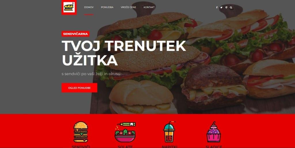 """<a href=""""http://www.sendvicarna.si/"""" target=""""_blank"""">Spletna stran Sendvičarna užitka d.o.o.</a>"""